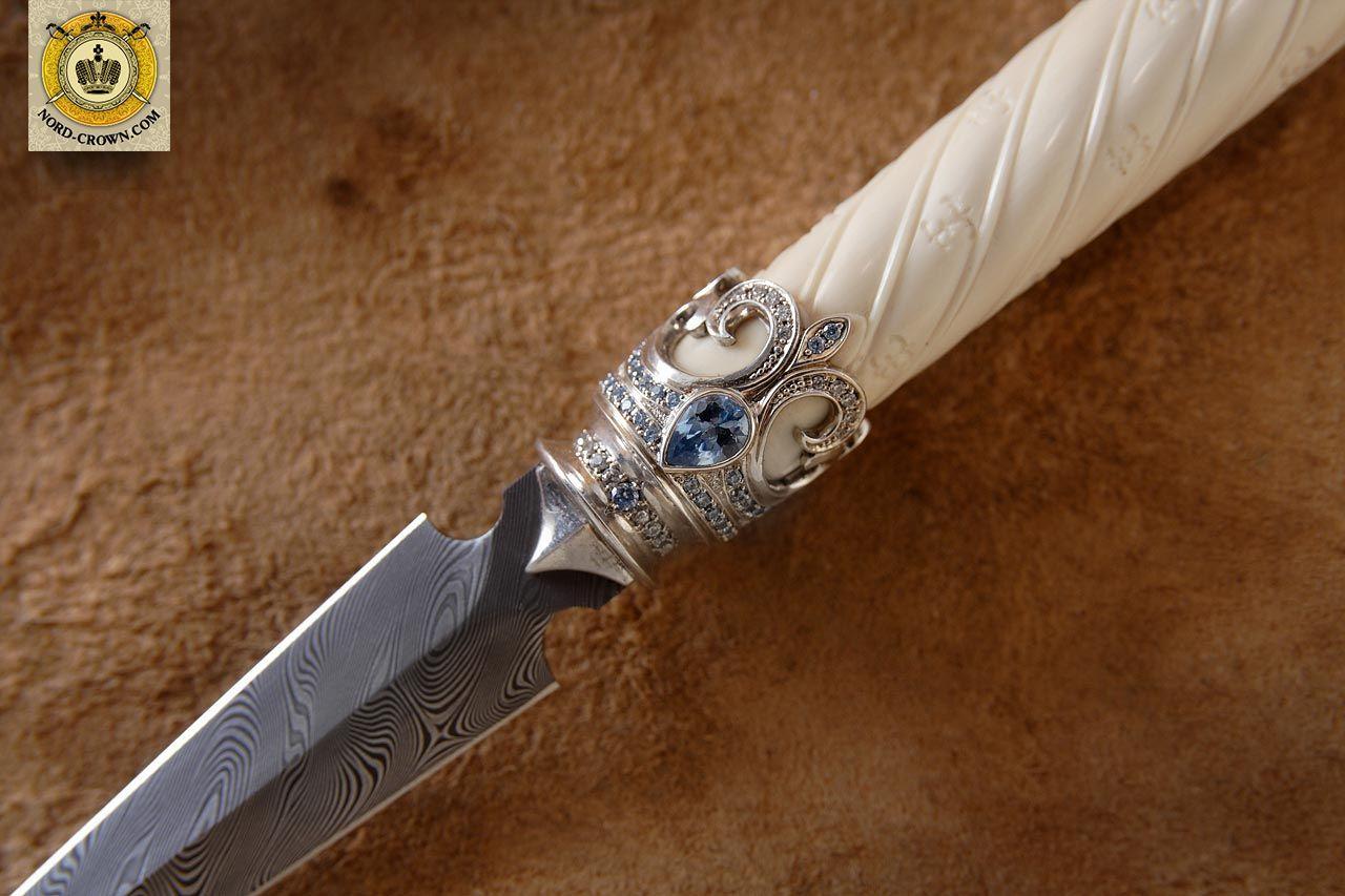 Как сделать серебряный нож