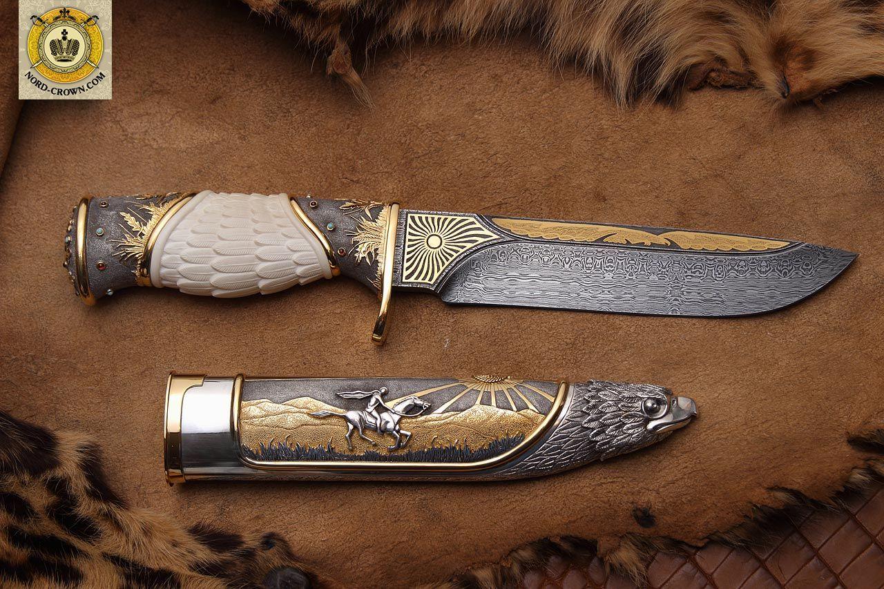 Фото красивейших авторских ножей 4